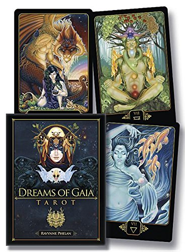 Dreams of Gaia Tarot: A Tarot for a New Era (Book & Cards) by Llewellyn Publications