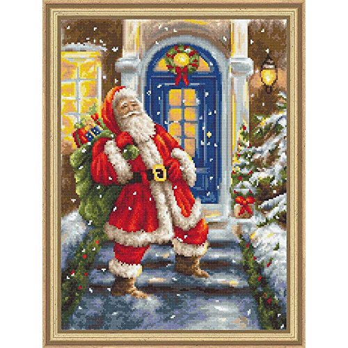 Lucas-S Santa Claus II Counted Cross-Stitch Kit