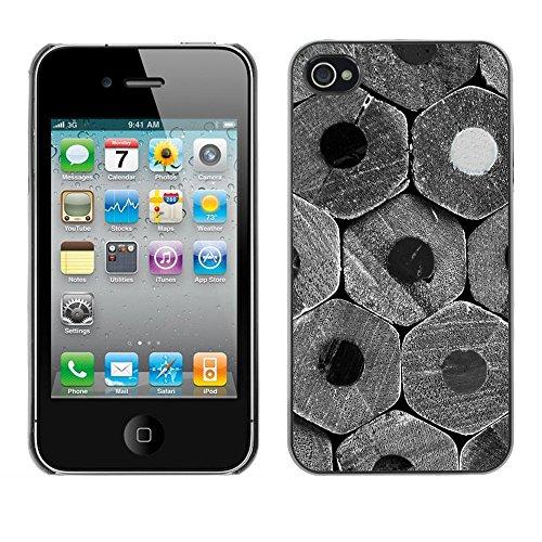 Premio Sottile Slim Cassa Custodia Case Cover Shell // F00012744 modèle en bois // Apple iPhone 4 4S 4G