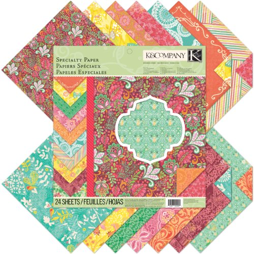 K&Company Specialty Paper Pad, Handmade (Thermography Paper)