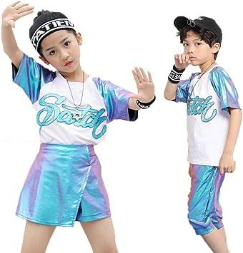 YONGMEI Ropa De Rendimiento para Niños- Baile Infantil Street ...
