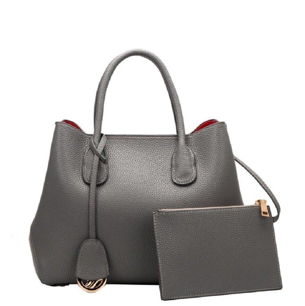 LF&F Luxus Leder Mode Platin-Tasche Handtasche Handtasche Schulter Diagonal-Paket formale Freizeitaktivitäten Party Hochzeit Outdoor Büro Beruf besondere Anlässe