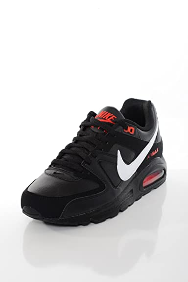 NIKE - Basket Homme Air Max Command Leather Noire-Taille - 46