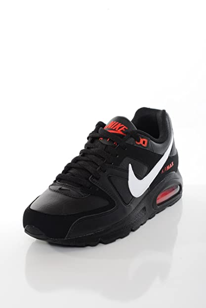 Conception innovante aa786 9372d Nike - Basket Homme Air Max Command Leather Noire
