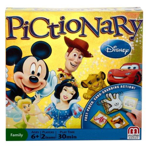 Disney Pictionary Game (Mattel Pictionary)