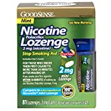 Best Nicotine Polacrilexes - GoodSense Mini Nicotine Polacrilex Lozenge, Mint, 2mg, 81 Review