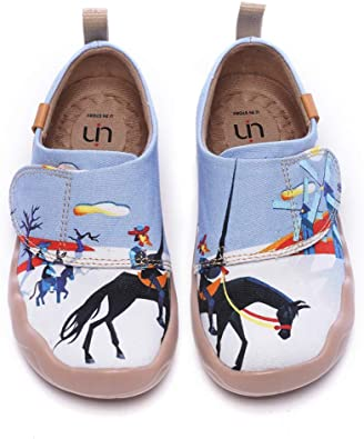 Mens Sneakers Size 10 Baby Cute Giraffes Canvas Slip-on Casual Printing Comfortable Low Top Mens Traveling Shoes