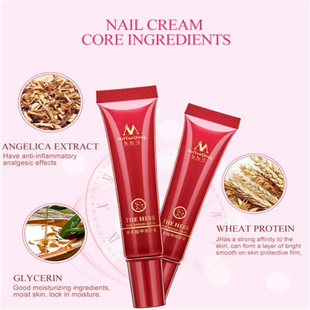 SUNNYM Nail Foot Protector Skin Care Cream Nail Fungus Treatment Herb Nails Repair Cream Nail Care Tools by SUNNYM (Image #4)