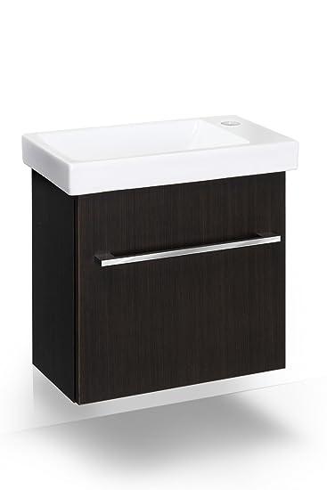 Waschtisch mit unterschrank gäste wc  Waschplatz mit Waschbecken Gäste WC WB-Unterschrank Waschtisch ...