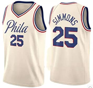 reputable site 596e0 c70eb Ben Simmons, Basketball Jersey, 76ers, City Edition, New ...