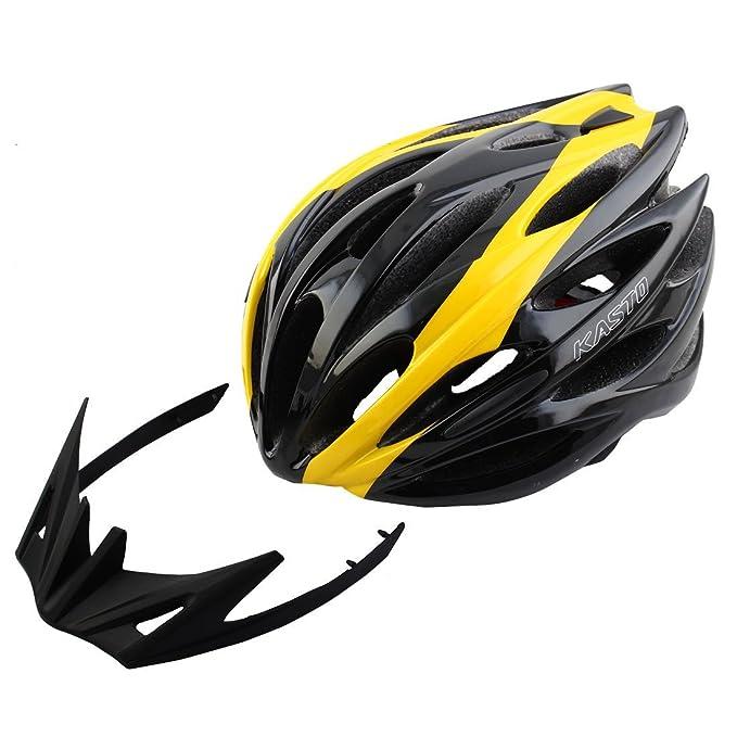 Amazon.com : eDealMax Unisex Adulto DE 25 agujeros Rotary Regulador de ciclo del casquillo, Protector de cabezal de seguridad Sombrero, Portátil Bicicleta ...
