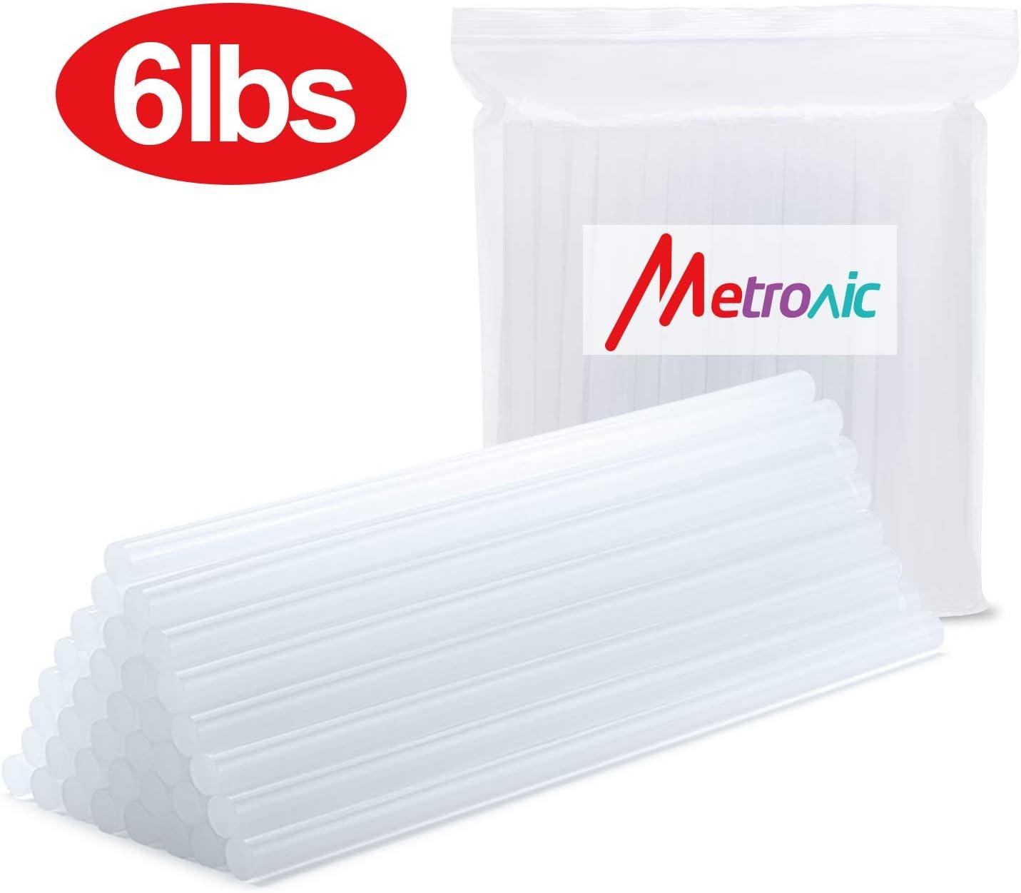 Clear Adtech 220-385-5 Hot Glue Sticks 5 lb//8 Mini Size