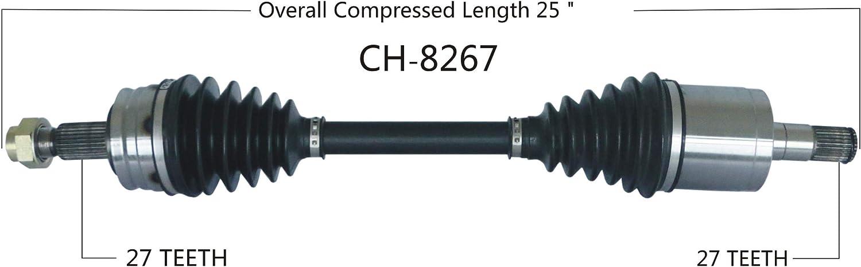 TrakMotive CH-8280 CV Axle