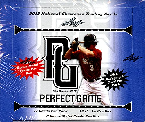 2013 Leaf Perfect Game Baseball Cards Hobby Box ()
