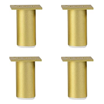 Amazon Com Furniture Support Feet Golden Adjustable Cabinet