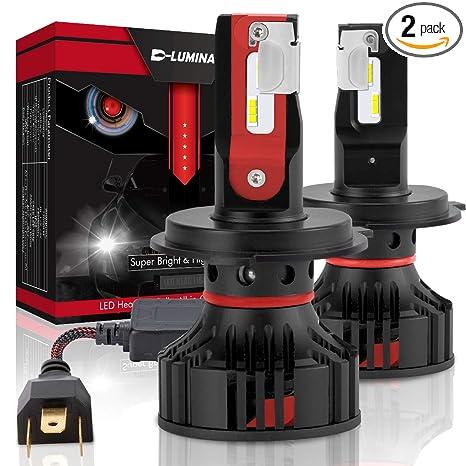 NOVSIGHT H4//HB2//9003 LED Headlight Bulbs 10000LM 60W Dual Hi//Lo Kit 6000K White