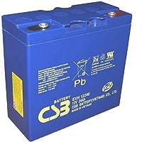 Batería AGM para arrancador 12v 24Ah CSB EVH12240