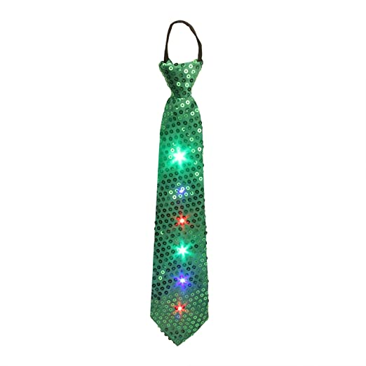 Light up Ties DAXIN DX LED Sequin Neck Ties Novelty Blinking Party Neckties Glow Boys  sc 1 st  Amazon.com & Amazon.com: Light up Ties DAXIN DX LED Sequin Neck Ties Novelty ...