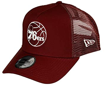 New Era NBA Essential Trucker Phi76e Redwhi Gorra, Unisex Adulto ...
