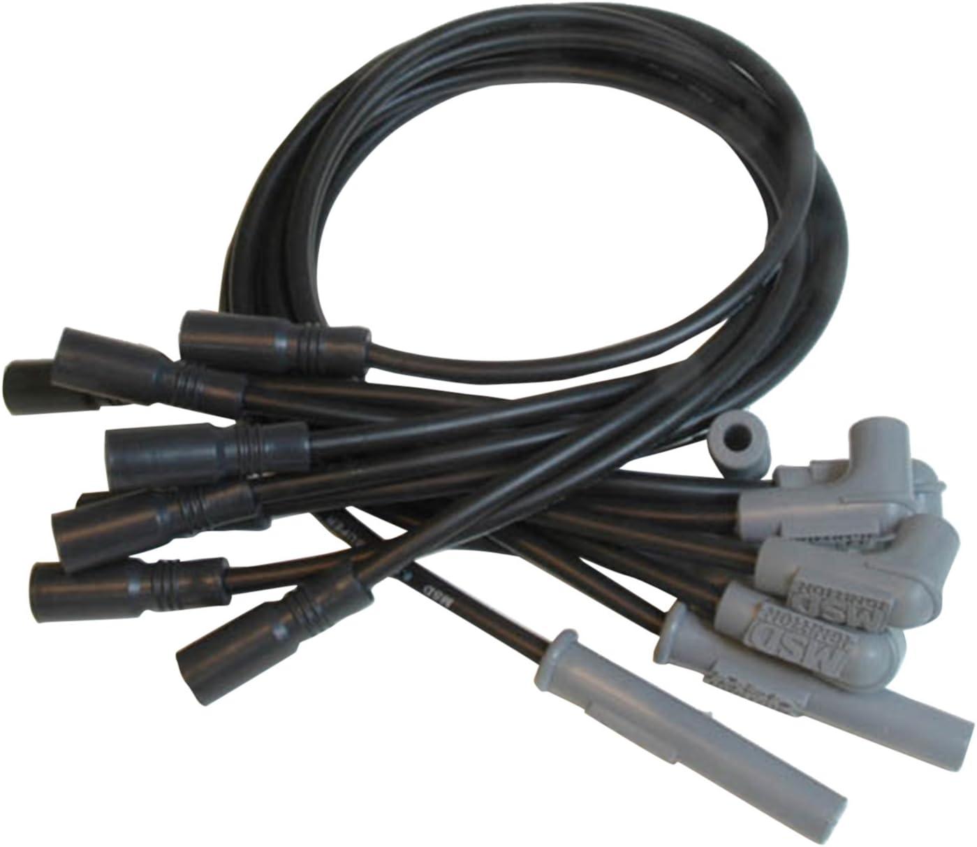 MSD 32173 Black 8.5mm Super Conductor Spark Plug Wire Set