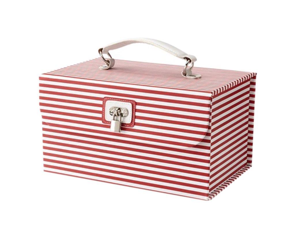 Morelle & Co Amanda Striped Cosmetic/Jewelry Case