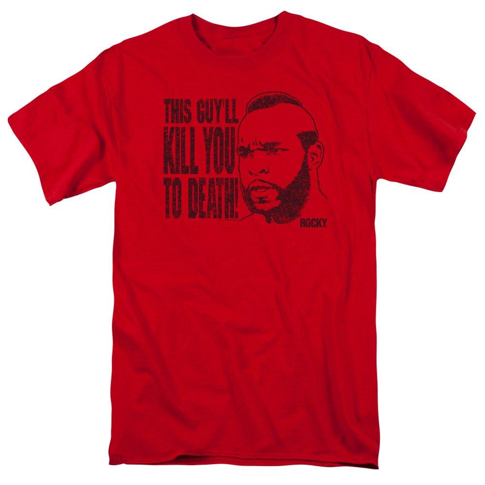 Rocky III Movie Kill You To Death T-Shirt