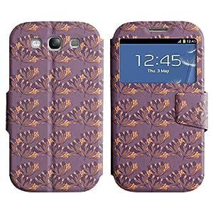 LEOCASE flor linda Funda Carcasa Cuero Tapa Case Para Samsung Galaxy S3 I9300 No.1007395
