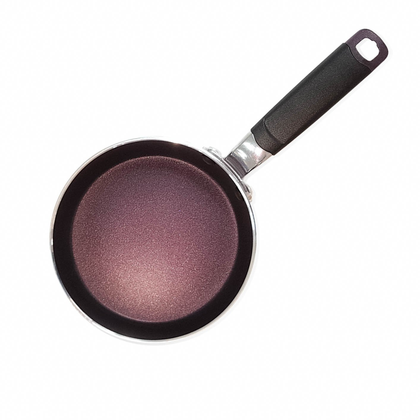 5.5-Inch One Egg Frying Pan Coated with New Teflon Select//Non-Stick Coating Aubergine Purple 5.5-Inch // PFOA Free TCMP14 - Colour Collection TeChef
