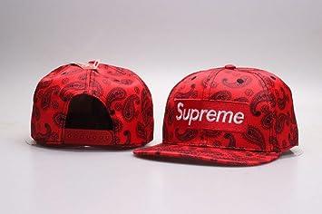 Sombrero de Snapback de moda Sombrero de Hip-Hop Gorra de béisbol ajustable de plano: Amazon.es: Deportes y aire libre