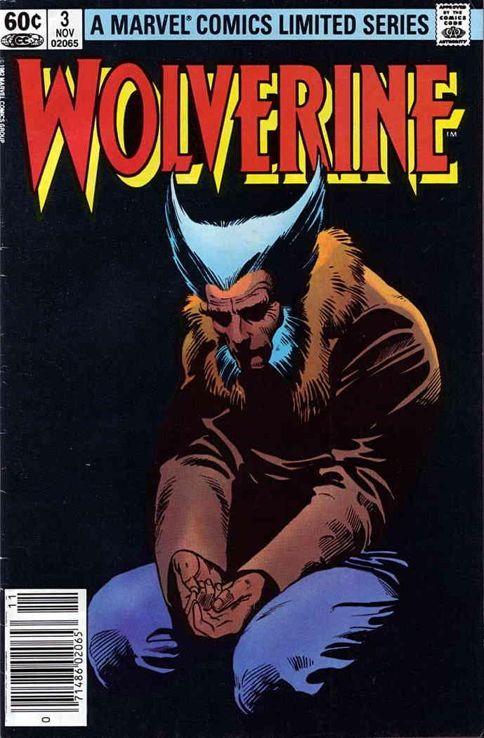 Wolverine (Ltd. Series) #3 FN ; Marvel comic book