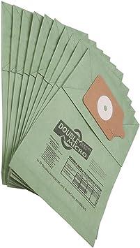 Henry - 10 Bolsas de Polvo de Papel de Doble Capa para aspiradora Numatic Hoover: Amazon.es: Hogar