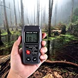 Wood Moisture Meter, DYTesa Digital Moisture Meter, ± 0.5% Accuracy Wood Detector Moisture Meter, 2 Pins / 4 Types of Wood Species / LCD Display, Moisture Sensor Detector Range 0% to 99.9%