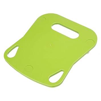 Tabla deslizante de Kochfix para Thermomix TM5, tabla de primera calidad para la cocina con teflón deslizante, base verde: Amazon.es: Hogar