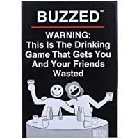 Buzzed Drinking Games That Gets You and Your Friends Wasted for Adults Card Game Board Game