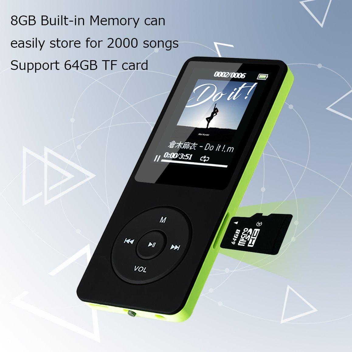 HiFi Lossless Music Player Portable and Light Digital Audio Player ...