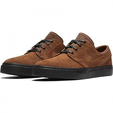free shipping e98a4 be50b Amazon.com   Nike Zoom Stefan Janoski Skate Shoes Lt British Tan lt British  Tan, Size 14   Skateboarding