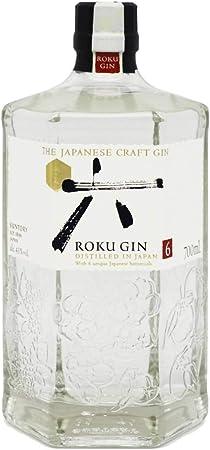Ginebra premium artesanal japonesa de aspecto limpio y brillante,Equilibrada y con paso muy agradabl