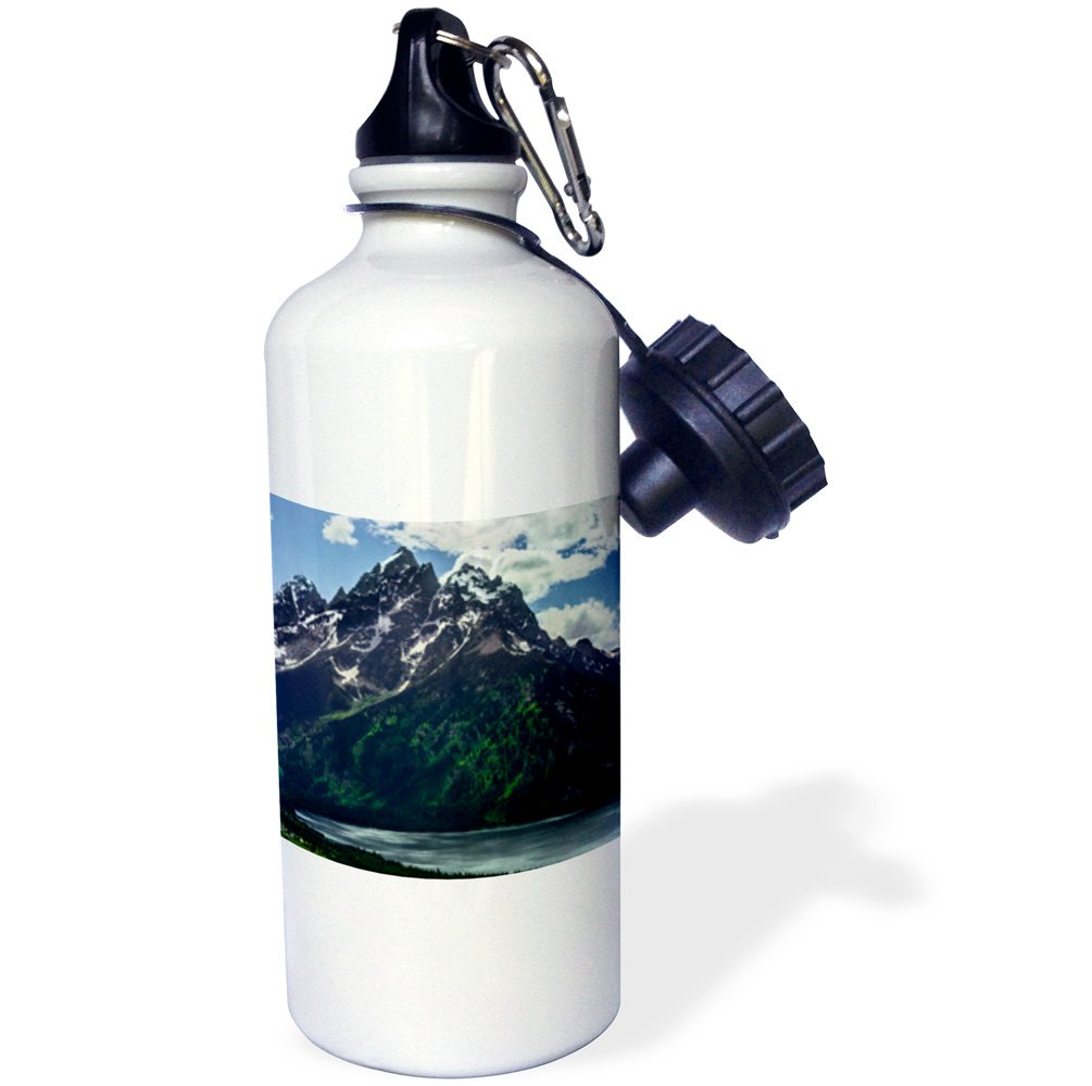 USA-Sports Water Bottle Wyoming 3dRose Cathedral Group in Grand Teton NP 21oz 21 oz Multicolor wb/_191068/_1