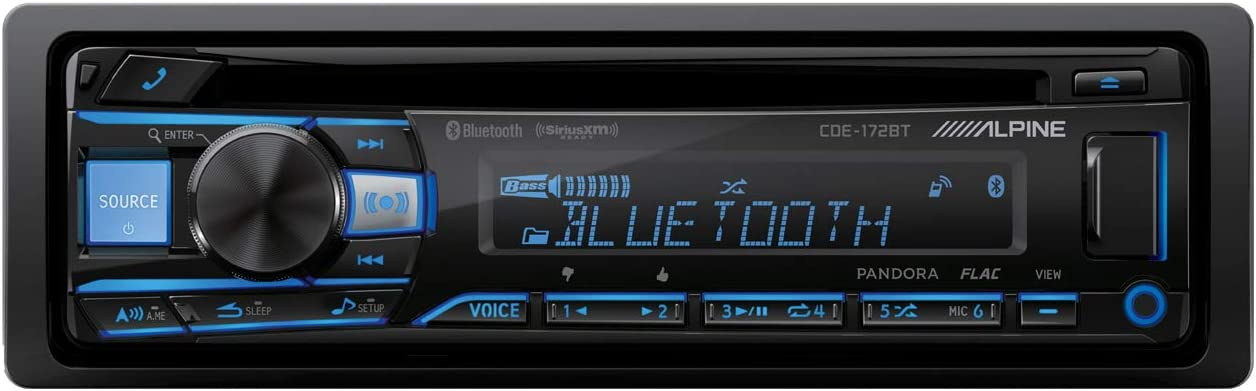 Alpine CDE-172BT Receiver