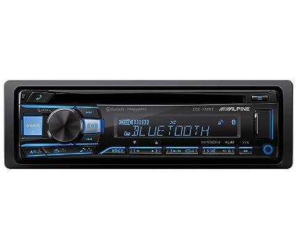 amazon com : alpine cde-172bt bluetooth receiver (replacement of cde-143bt)  : electronics
