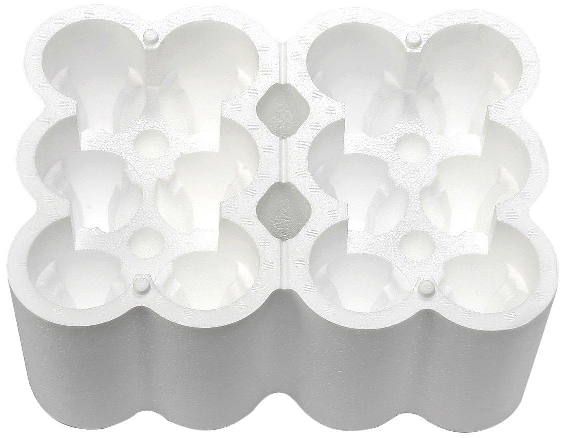 Polar Tech 749T Top Load 12 Wine/Champagne Bottle Foam Shipper
