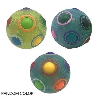 Footprintse Puzzle di plastica di Torsione del cubo della Palla Magica dell'arcobaleno per Il Giocattolo Adulto degli Adolescenti