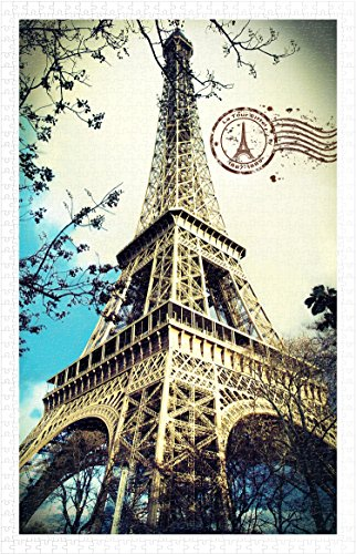Pintoo - H1485 - Eiffel Tower - 1000 Piece Plastic Puzzle]()