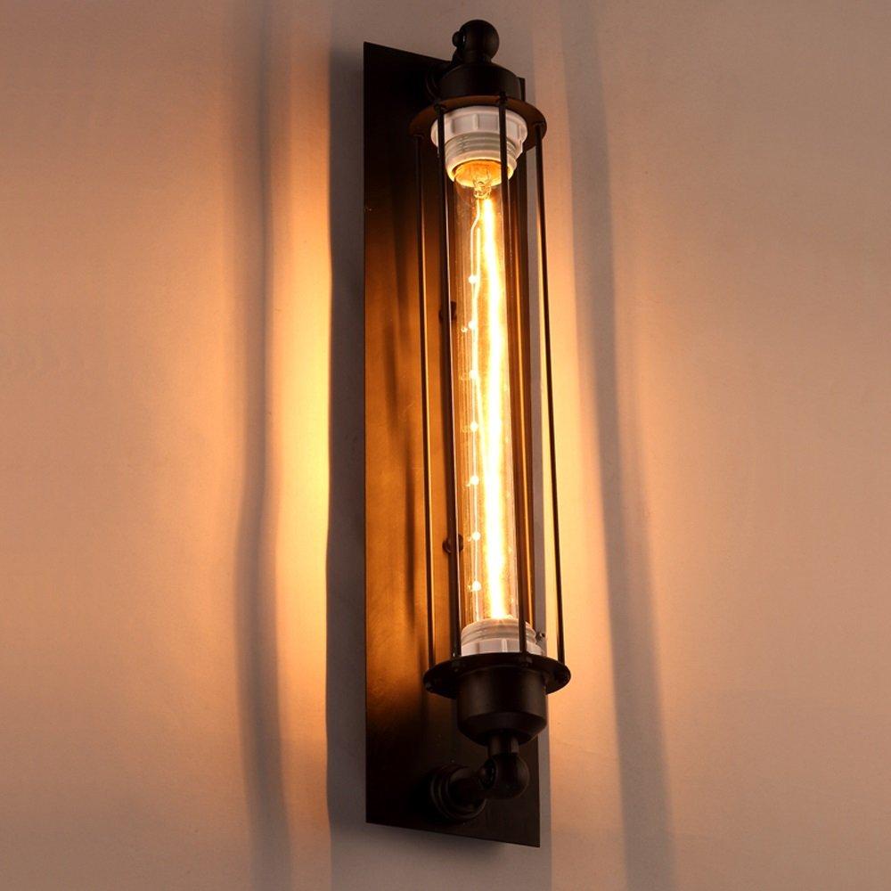 BD Comodini Industriali Retro Luce Scale Di Ferro Lampada Da Parete Dimensioni  10  45 Cm