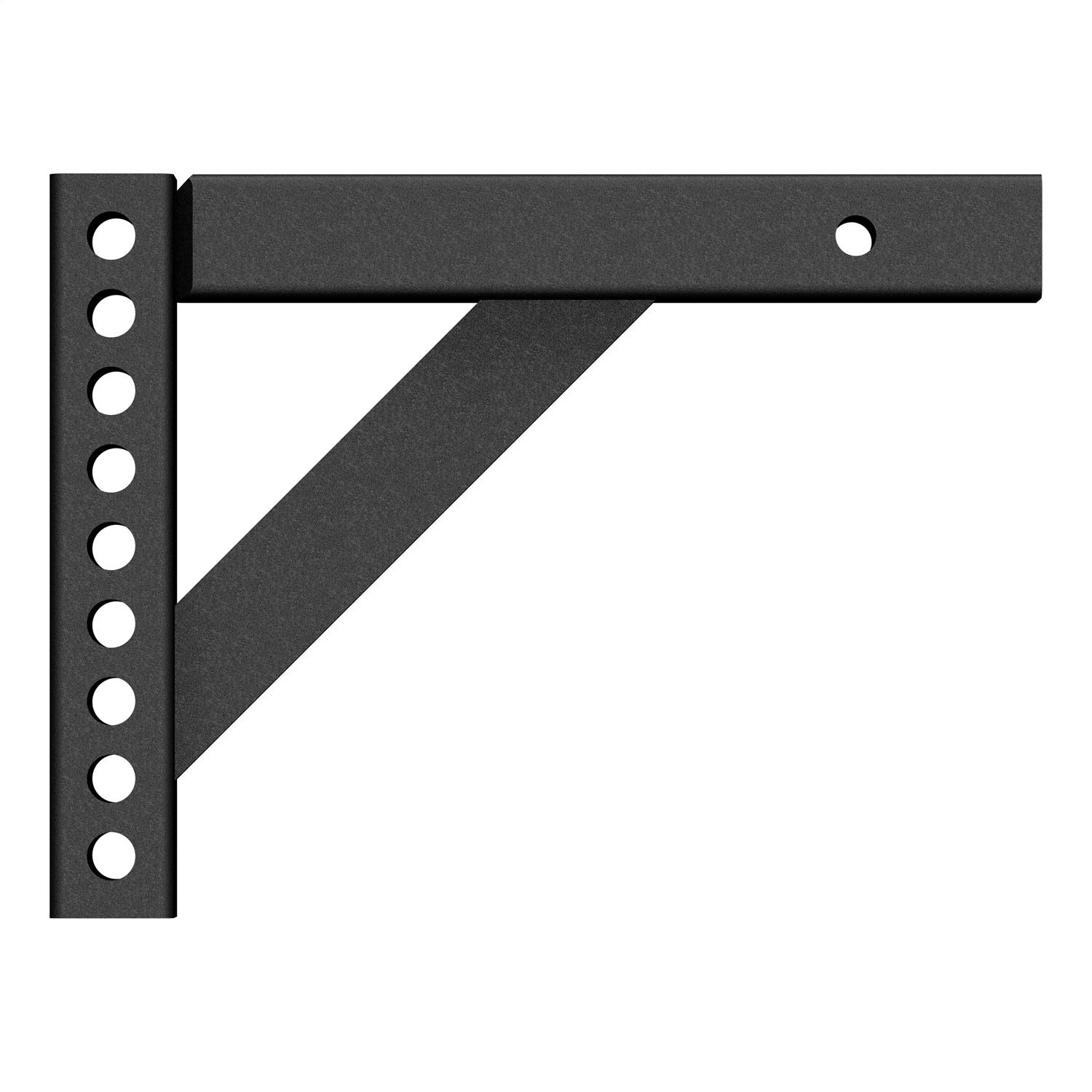 CURT 17121 Adj Hitch Bar 14 In X 6 In With 10 1/4 In Rise Curt Manufacturing