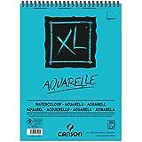 CANSON Skizzen- und Studienblock XL Aquarelle, DIN A3, 30 Blatt, 300 g/qm, 297 x 420 mm, Block mit Kopfspirale