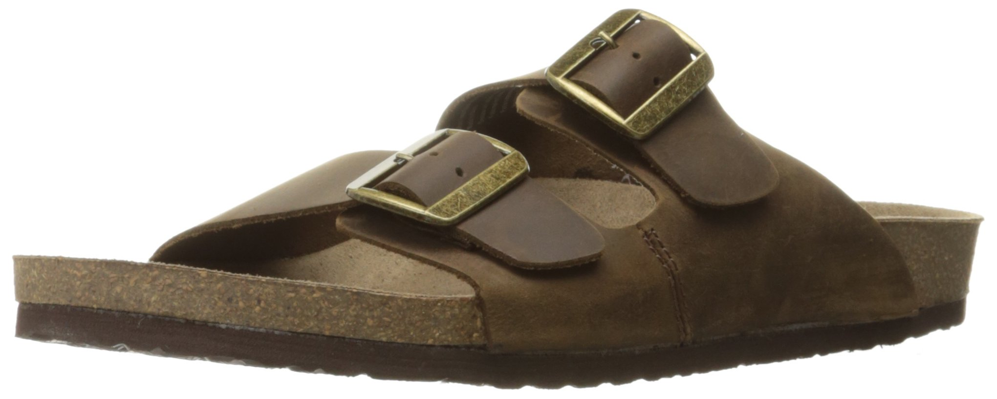 Crevo Men's Sedono Slide Sandal, Brown, 10 M US