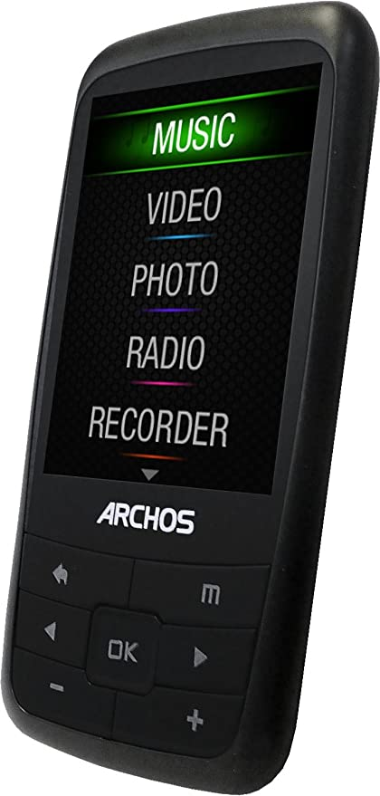 amazon com archos vision 24b 4 gb video mp3 player with 2 4 inch rh amazon com archos 2oc vision user manual archos 1sc vision manual
