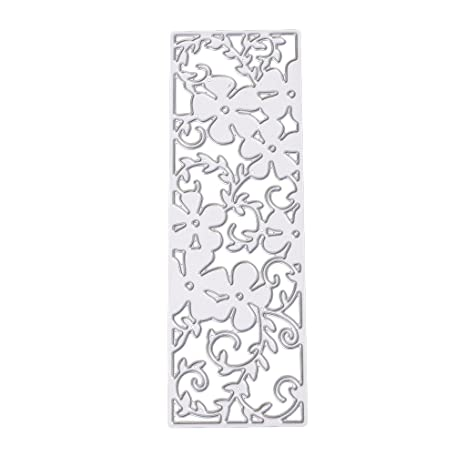 Plantillas de corte plantilla para molde, liyudl DIY Metal repujado plantilla para álbum Scrapbooking tarjeta