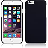 Real Shopping Rubberised Matte Hard Back Case Cover For Apple iPhone 6 Plus / Apple iPhone 6s Plus - Black